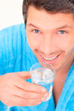 Wellness man Stock Photography