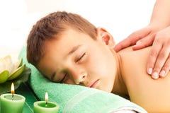 Wellness Massage Royalty Free Stock Image