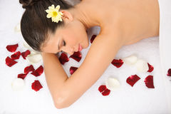 Wellness Massage Royalty Free Stock Photography