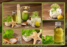 Wellness mit Homöopathie Lizenzfreies Stockfoto