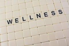 Wellness nas telhas Imagem de Stock Royalty Free