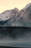 Wellness nelle alpi Fotografie Stock