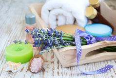 Wellness products Royalty Free Stock Image