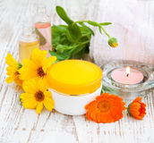 Wellness products Stock Image