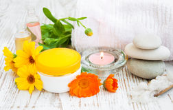Wellness products Stock Photo