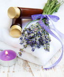 Wellness products Royalty Free Stock Images