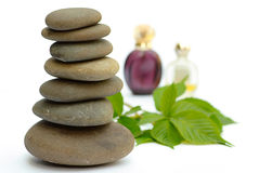 Wellness Products Wet Spackgroun Royalty Free Stock Image