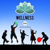 Wellness Relax Wellbeing Nature Balance Exercise Concept Royalty Free Stock Photography