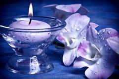 Wellness in romantische stijl Stock Afbeeldingen