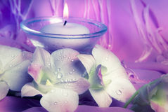 Wellness in roze Royalty-vrije Stock Afbeelding