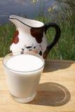 Wellness, sbarco di latte Immagine Stock