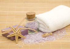 Wellness spa products Stock Photography