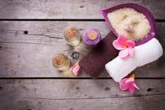 Wellness or spa  setting. Stock Photo