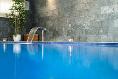 Wellness and spa swimming pool Stock Photos