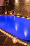 Wellness and Spa swimming pool Royalty Free Stock Photos
