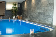 Wellness and spa swimming pool Stock Photography