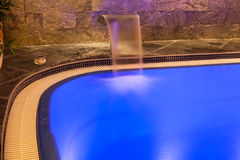 Wellness and spa swimming pool Royalty Free Stock Images