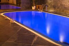 Wellness and spa swimming pool Royalty Free Stock Image