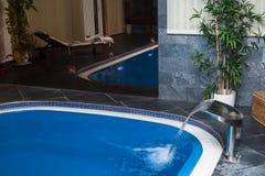 Wellness and Spa swimming pool Stock Photo