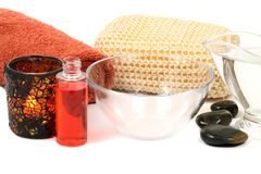 Wellness and spa treatment Royalty Free Stock Photos