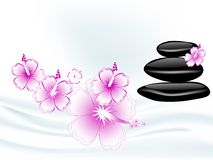 Wellness stones Stock Photo