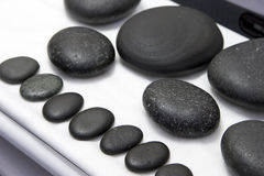 Wellness stones Royalty Free Stock Image