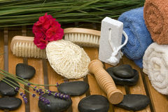 Wellness stuff Stock Photo