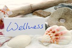 Wellness tło fotografia stock