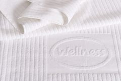 Wellness towel Royalty Free Stock Image