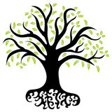 Wellness Tree Stock Photo
