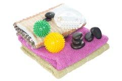Wellness und Massage Stockfotos