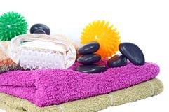 Wellness und Massage Lizenzfreies Stockbild