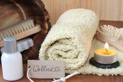Wellness w łazience Obrazy Royalty Free