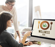 Wellness Wellbeing Health Healthy Lifestyle Concept Stock Photos