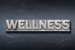 Wellness word den Royalty Free Stock Images