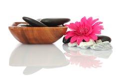Wellness zen en kuuroord Royalty-vrije Stock Foto