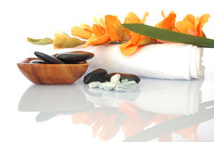 Wellness zen and spa Royalty Free Stock Images