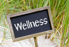 Wellness znak Fotografia Royalty Free