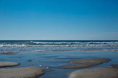 Wells Beach Royalty Free Stock Photography