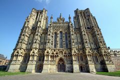 Wells, The Cathedral Royalty Free Stock Photography