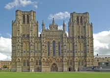 Wells Cathedral. Is Britains smallest Cathedral Royalty Free Stock Image