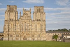 Wells Cathedral Church Stock Image