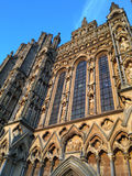 Wells Cathedral Facade Stock Photography