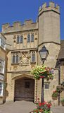 Wells Cathedral Gatehouse. The Gatehouse to Wells Cathedral England Royalty Free Stock Image