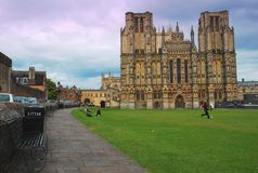 Wells cathedral, Somerset, England Stock Photo