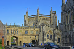 Wells Cathedral, Somerset, England Royalty Free Stock Images