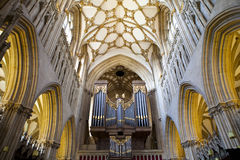 Wells Cathedral in Somerset Stock Photo