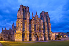 Wells Cathedral in Somerset Stock Image