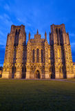 Wells Cathedral in Somerset Stock Images