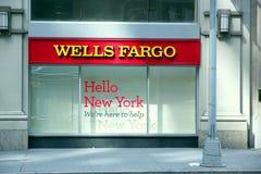 Wells Fargo Lizenzfreie Stockbilder